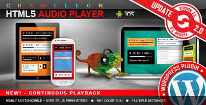 افزونه پخش کننده موسیقی HTML5 Audio Player v2.3 برای وردپرس