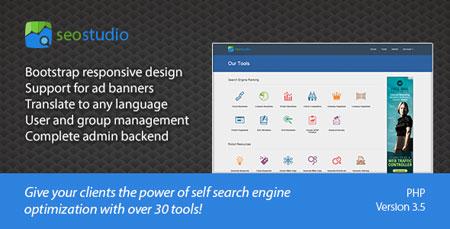 راه اندازی وب سایت ابزار وبمستر و سئو SEO Studio نسخه ۳٫۵