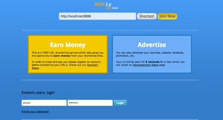 اسکریپت کسب درآمد از ADF.LY
